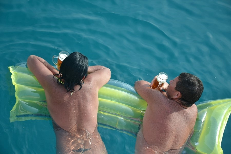 Naturist Cruise in Adratic Sea from Split in Croatia with Traditional Ensuite Cruise ship Kalipsa